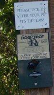 pond meadow dog waste supplies
