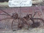antique cranberry picker across from whiton woods
