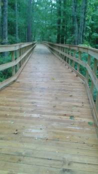 long boardwalk on Pathway in Norwell