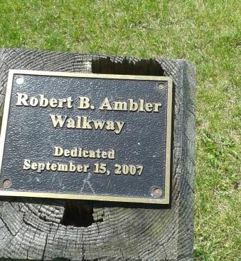 Robert Ambler Way at Webb Memorial State Park.
