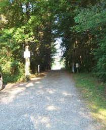 entrance at Jacobs pond conservation area