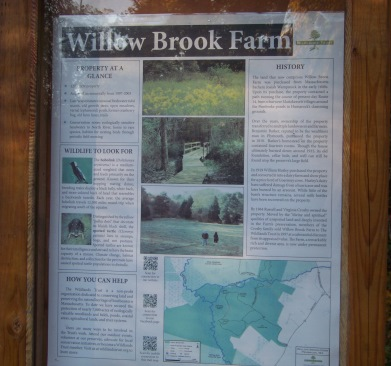 kiosk at willow brook farm in Pembroke