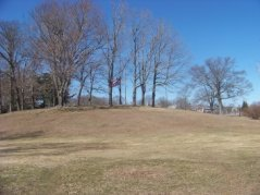 grassy expanse of whitman park