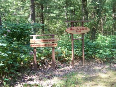 Albert L. Ingeno hiking trail