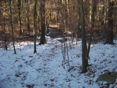frozen trail in ames nowell