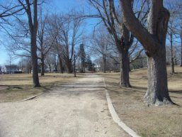 pleasant walkways of whitman park