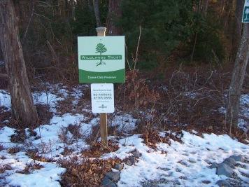 canoe club preserve trail head