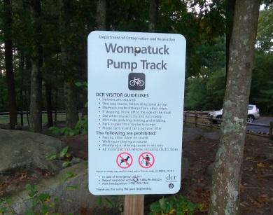 Wompatuck Pump Track