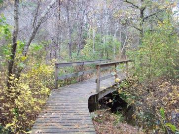 bridge over pudding brook in Pembroke