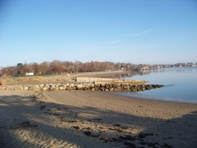 hingham bathing beach in early spring