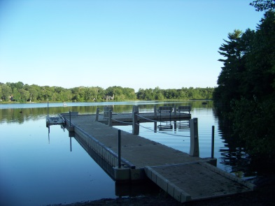 dock into jacobs pond