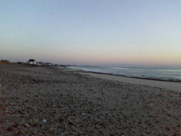 early morning at Rexhame Beach