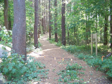 south pleasant st entrance to george washington forest in hingham