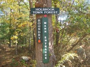 boundary trail at mann entrance