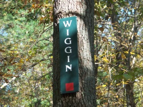 wiggin trail entrance in holbrook