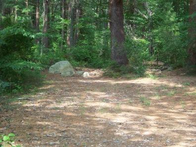 start of around cleveland pond trail