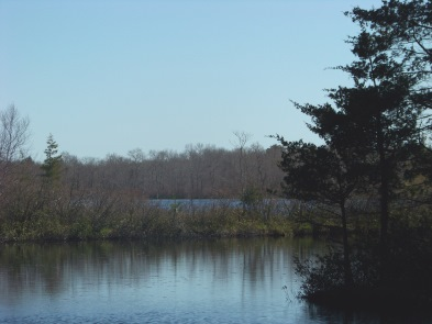 inner harbor of Cleveland Pond