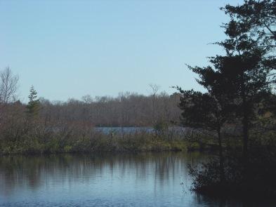inner harbor of Cleveland Pond