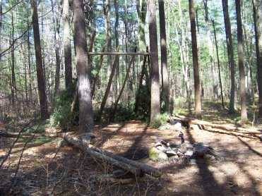 campsite on Around Cleveland Pond Trail