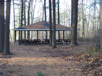 boy scout pavilion at ames nowell state park
