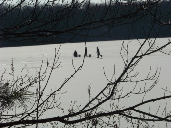 skaters on cleveland pond