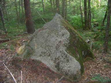 teepee rock in bates lane conservation area