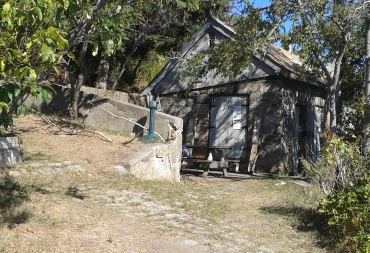 Ranger station on Bumpkin Island