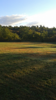 lower lawn at Centennial Park in Norwell