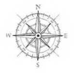compass denoting a map