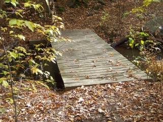 bridge over cranberry brook
