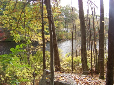 western side cushing pond view