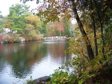 cushing pond dam