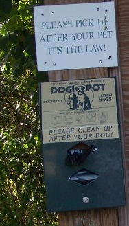 pond meadow dog waste supplies