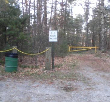 ellis nature sanctuary parking area