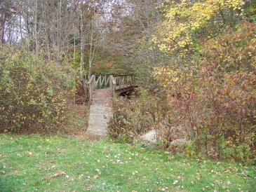 myrtle street trail bridge in Hanover