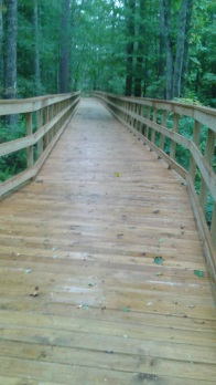 long boardwalk on Pathway in Norwell