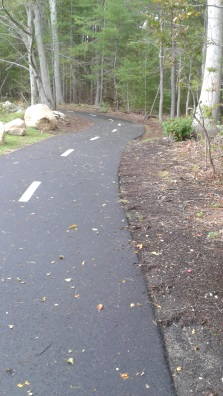 the paved Pathway in Norwell