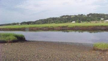 dog beach on south river behind rexhame beach