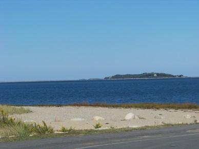 beach and view at Nelson Playground