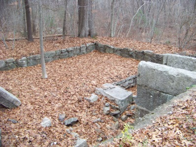 site where the mill existed at triphammer pond