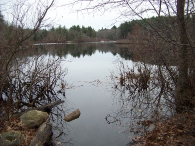 boat launch at triphammer pond
