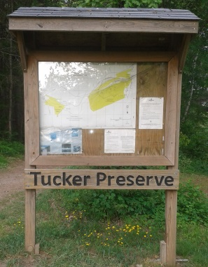 tucker preserve kiosk