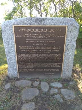 Donald F. Haviland Memorial