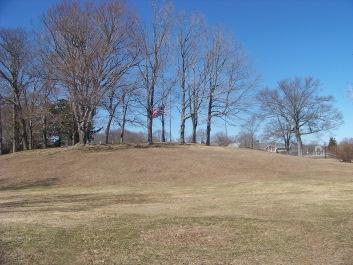 grassy expanse of whitman park