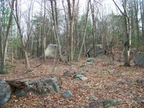 rocks of the moccasin valley