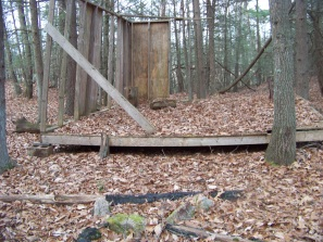 building project on the boundary trail