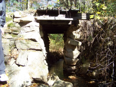 view of bridge over beaver brook