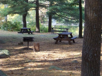 picnicing at ames nowell state park