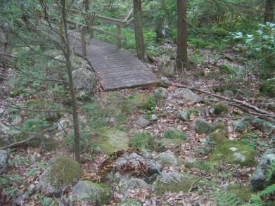 maxwell trail bridge at bates lane conservation area