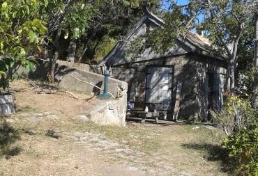 Ranger station on Bumpkin Island
